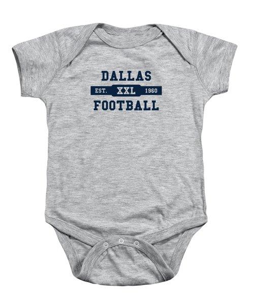 Cowboys Retro Shirt Baby Onesie