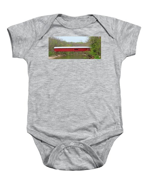 Cox Ford Covered Bridge - Sideview Baby Onesie