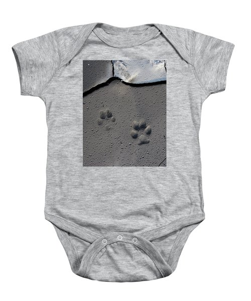 Coyote Tracks Baby Onesie