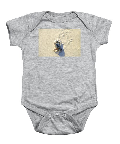 Crawling Back To You Baby Onesie