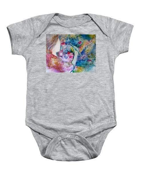 Created To Create Baby Onesie
