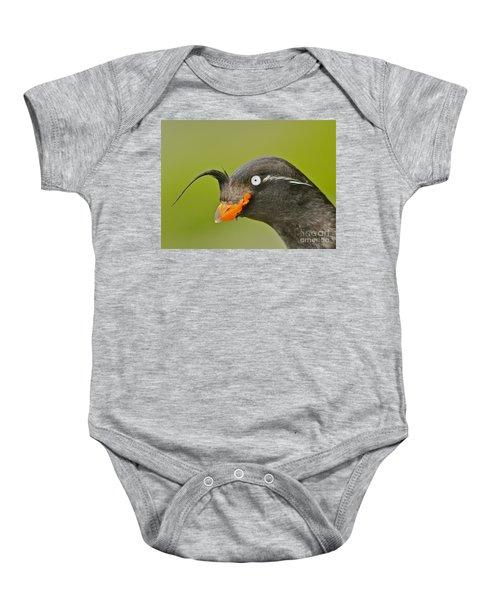 Crested Auklet Baby Onesie