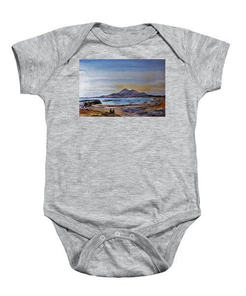 F801  Croagh Patrick From Old Head, Mayo Baby Onesie