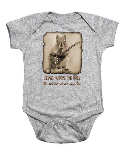 Crossroads-shirt Baby Onesie