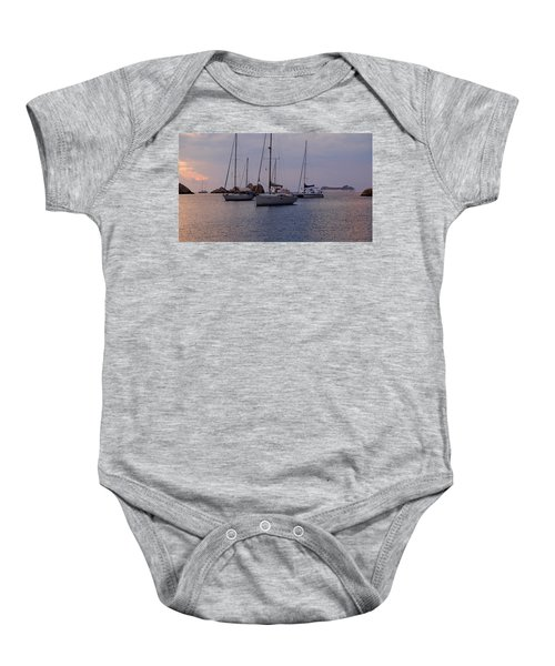 Cruise Liner Passing Baby Onesie