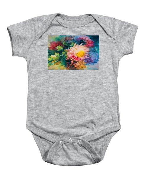 Chrysanthemums Baby Onesie