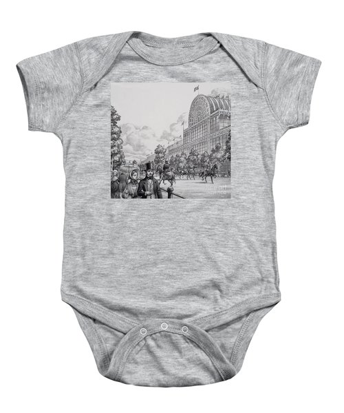 Crystal Palace Baby Onesie by Pat Nicolle