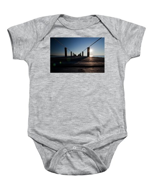 Currituck Sunset Baby Onesie