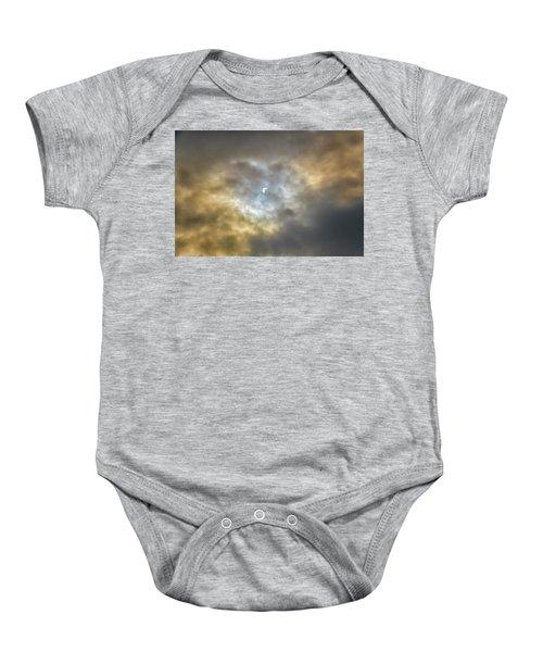 Curtain Of Clouds Eclipse Baby Onesie