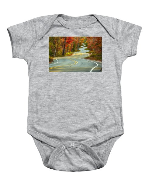 Curvaceous Baby Onesie by Bill Pevlor