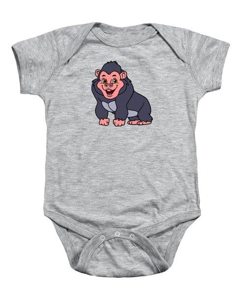Cute Ape Baby Onesie