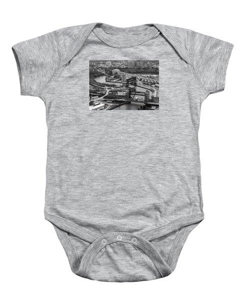 Cuyahoga River Baby Onesie