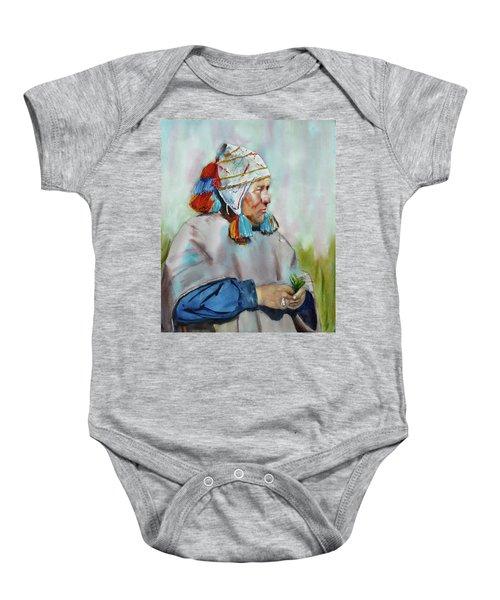 Cuzco Shaman  Baby Onesie