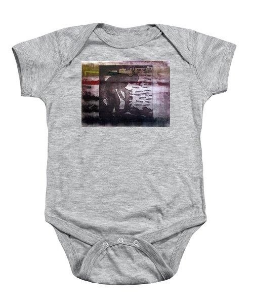 D U Rounds Project, Print 42 Baby Onesie