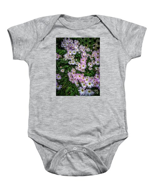 Daisy Patch Baby Onesie