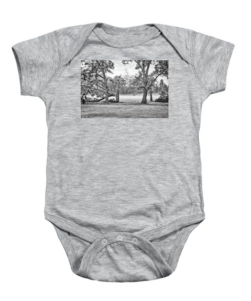 Dale - Foggy Morning Baby Onesie
