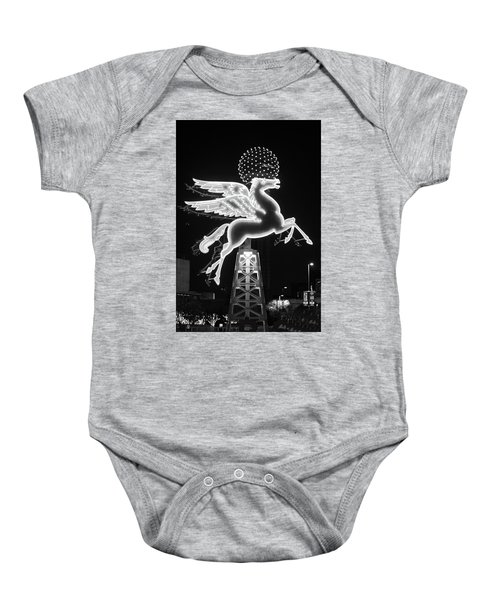 Dallas Pegasus Bw 121517 Baby Onesie