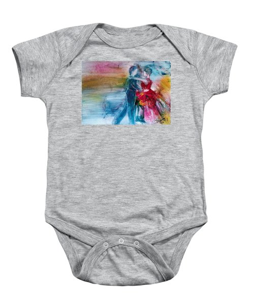 Dancing Into Eternity Baby Onesie