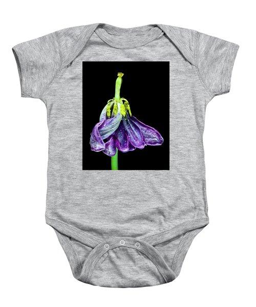Dancing Tulip 2 Baby Onesie