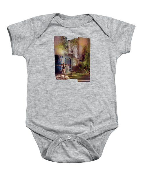Dawn Of A New Era Baby Onesie