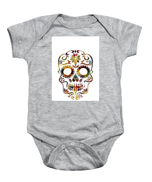 Day Of The Dead Baby Onesie
