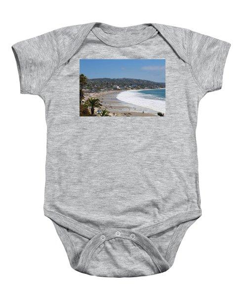 Day On The Beach Baby Onesie