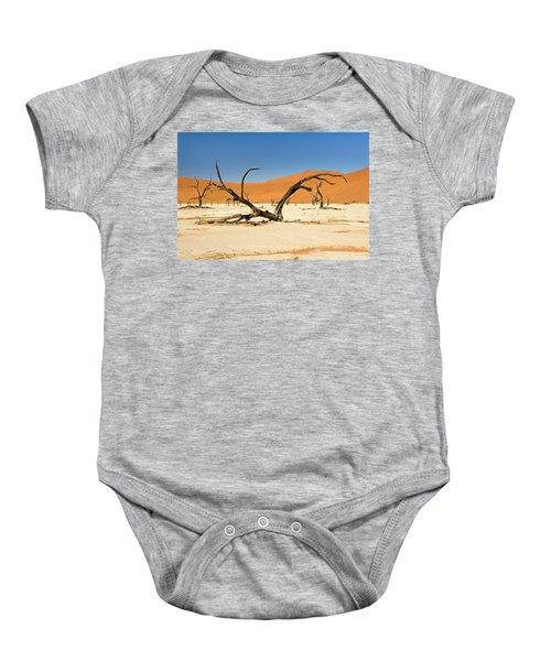 Deadvlei With Tree Baby Onesie
