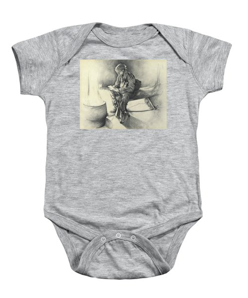 Letter From Home Baby Onesie