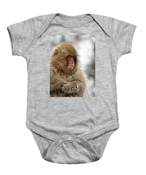 Deep In Thought Baby Onesie