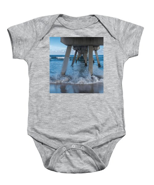 Deerfield Pier Baby Onesie