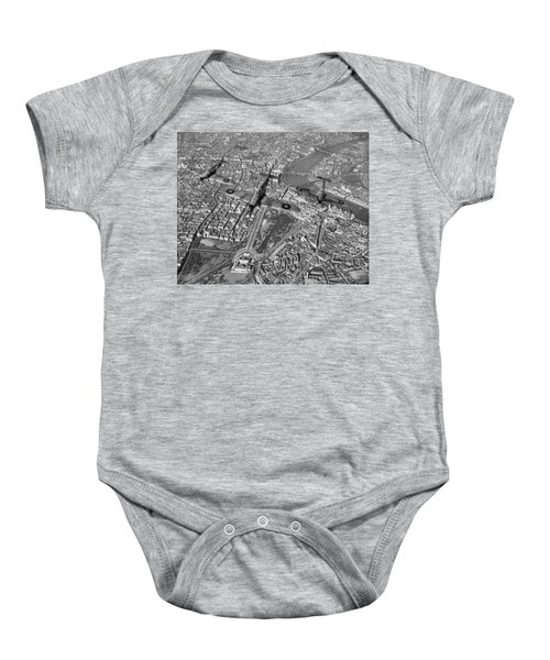 Baby Onesie featuring the photograph Defence Of The Realm by Gary Eason