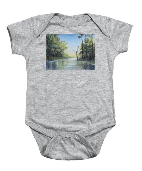 Delaware River  Baby Onesie