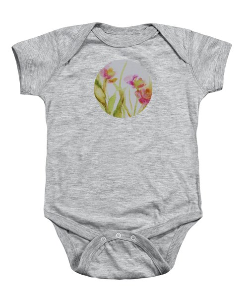 Delicate Blossoms Baby Onesie