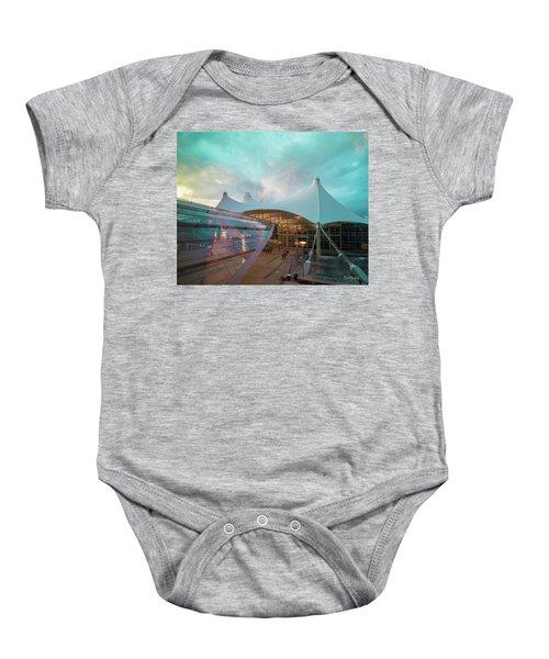 Denver International Airport Baby Onesie