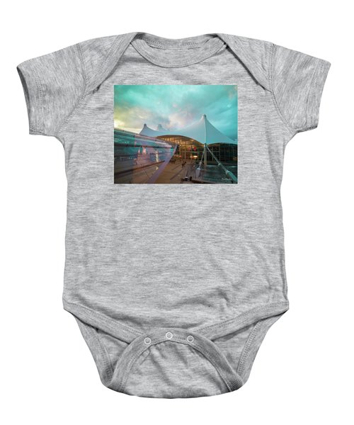 Denver International Airport Baby Onesie