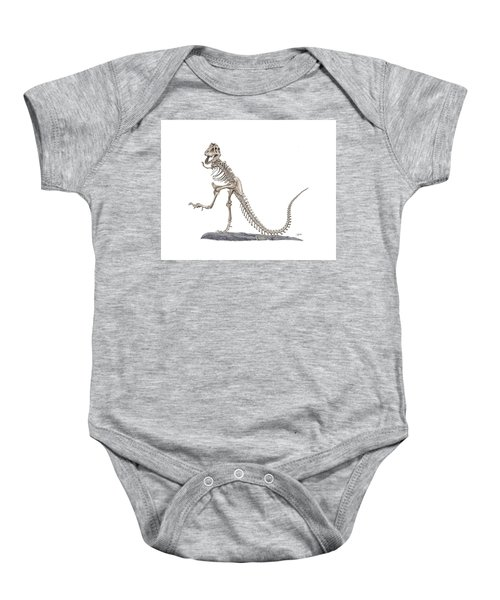 Denvers Dancing T Rex Baby Onesie