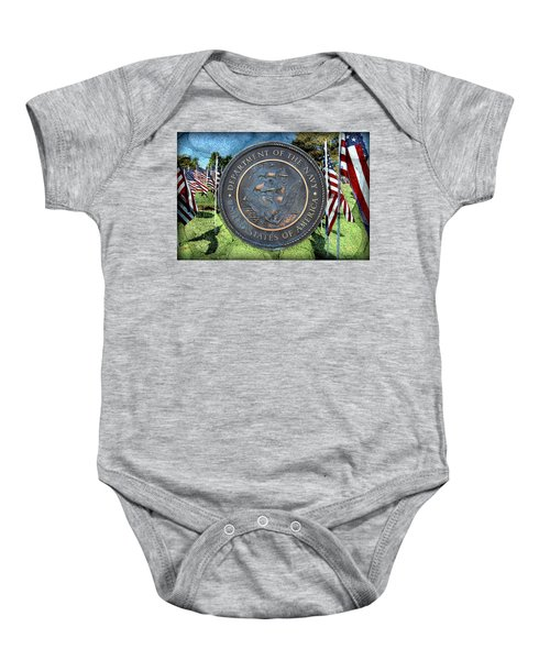 Department Of The Navy - United States Baby Onesie