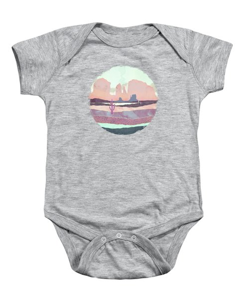 Desert Dusk Light Baby Onesie