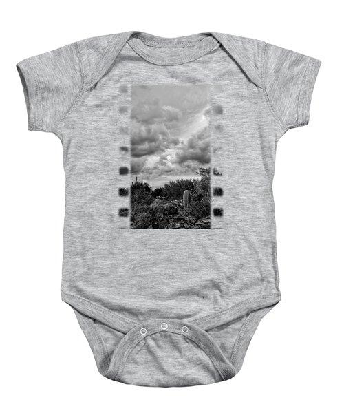 Desert In Clouds V15 Baby Onesie by Mark Myhaver