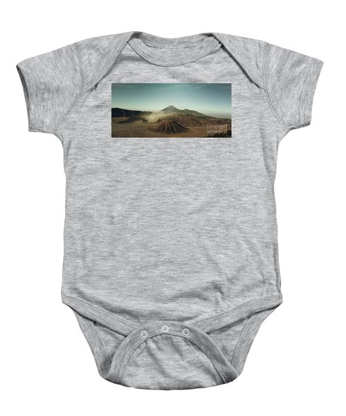 Baby Onesie featuring the photograph Desert Mountain  by MGL Meiklejohn Graphics Licensing