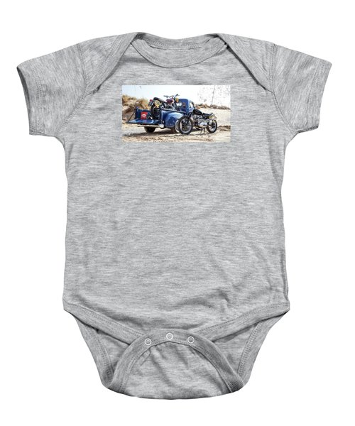 Desert Racing Baby Onesie by Mark Rogan