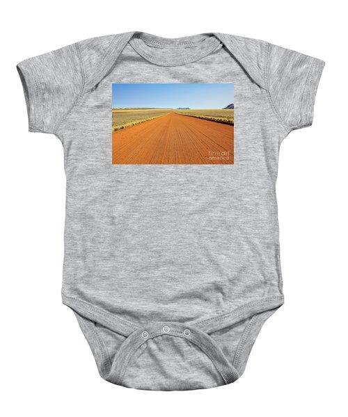 Desert Road Baby Onesie