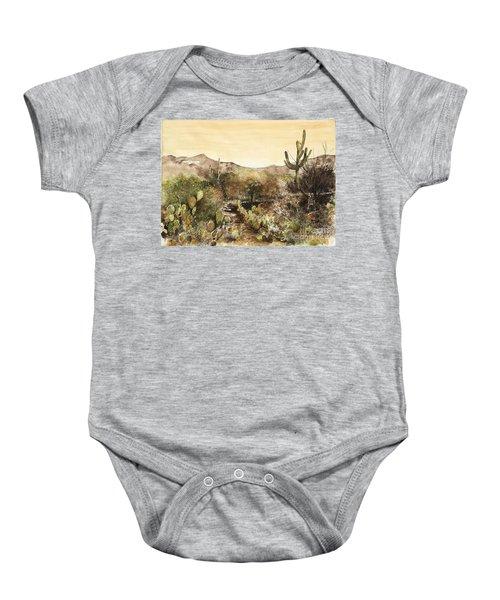 Desert Walk Baby Onesie