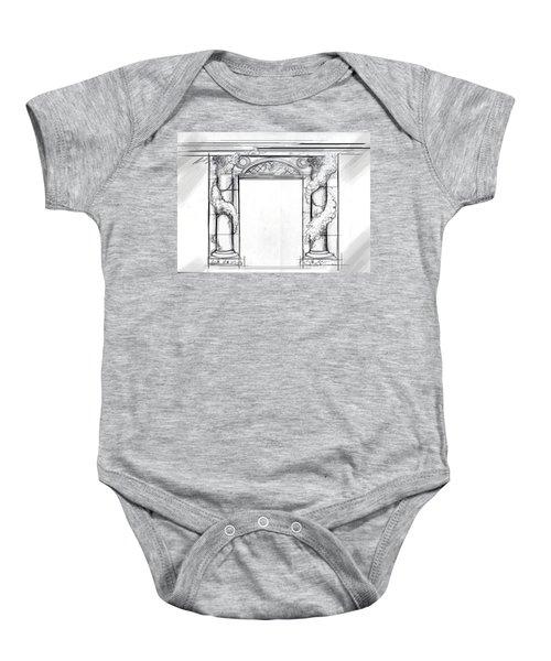 Design For Trompe L'oeil Baby Onesie