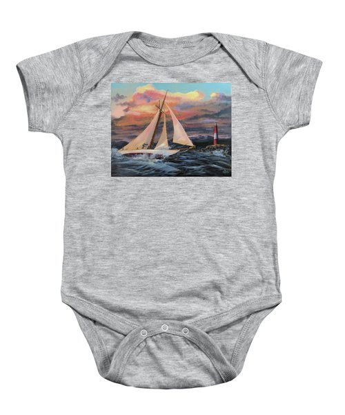 Desperate Reach Baby Onesie