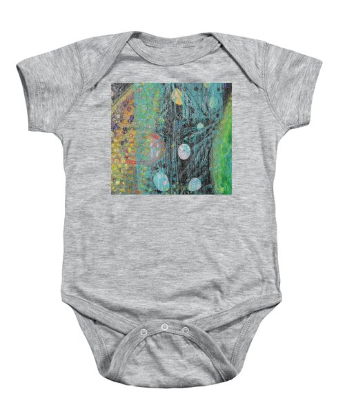 Detail From Creation Of Adam And Eve Baby Onesie