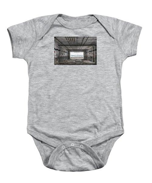 Detroit Packard Plant  Baby Onesie