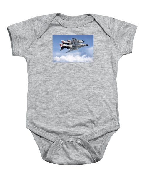 Diamonback Echelon Baby Onesie by Peter Chilelli