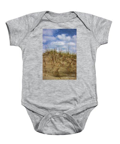 Digging In Deep In Sand Dunes Baby Onesie