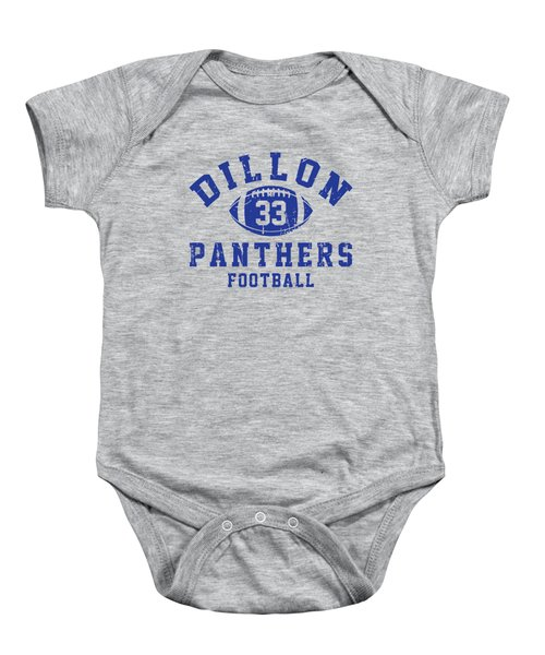 Dillon Panthers Football 2 Baby Onesie by Pendi Kere